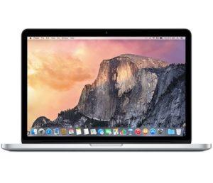 "MacBook Pro Retina 13"" Early 2015 (Intel Core i5 2.7 GHz 8 GB RAM 128 GB SSD), Intel Core i5 2,7 GHz, 8GB 1867MHz DDR3, 128 GB SSD"