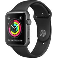 Apple Watch Watch Standard 38mm, Deportiva negra, Edad aprox. del producto: 6 meses