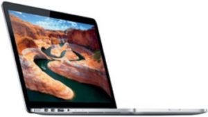 MacBook Pro 13-inch Retina, Dual Core Intel i5 2,4 GHz (turbo boost up to 2,9GHz), 4 GB DDR3 1600MHz (2DIMMs), 128 GB, Edad aprox. del producto: 50 meses