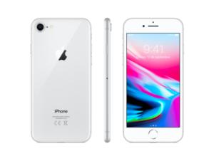 iPhone 8, 64 GB, Silver, Edad aprox. del producto: 1 mes
