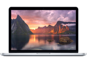 MacBook Pro 15-inch Retina, Intel Core i7 2,2 GHz, 16 GB 1600MHz DDR3, 256 GB en Flash SSD, Edad aprox. del producto: 17 meses