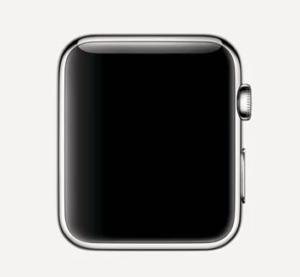 Watch Series 1 Aluminum (42mm), Black