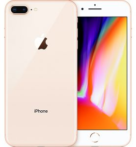 iPhone 8 Plus 64GB, 64 GB, Gold