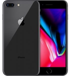 iPhone 8 Plus 256GB, 256 GB, Gray