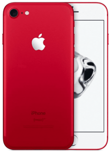 iPhone 7 128GB, 128 GB, Red