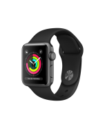 Watch Series 3 Aluminum (42mm), Space Gray, Gray Sport Band