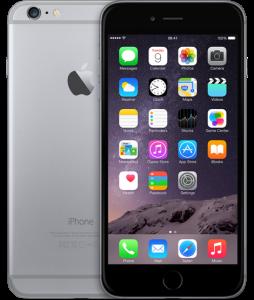 iPhone 6 Plus 16GB, 16 GB, Space Gray
