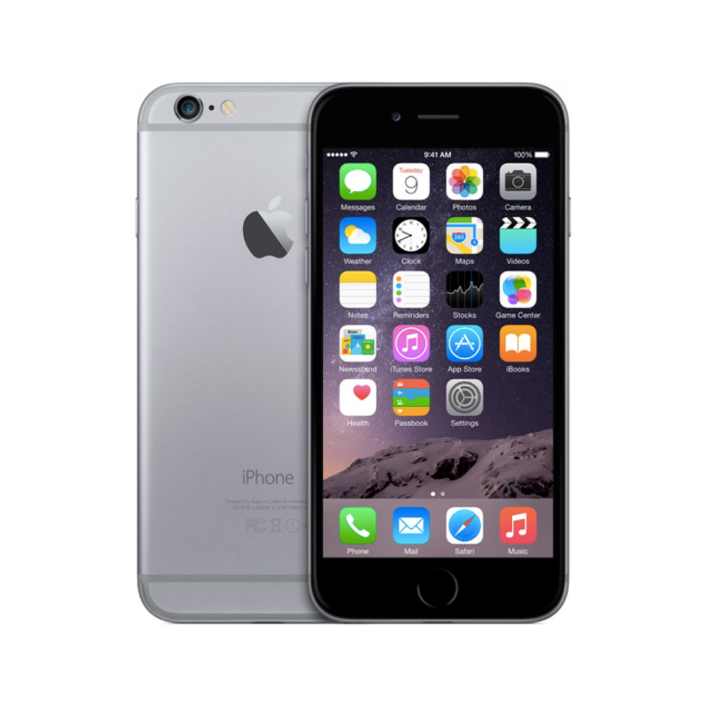 iPhone 6 32GB, 32GB, Space Gray