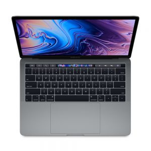 "MacBook Pro 13"" 4TBT Mid 2019 (Intel Quad-Core i5 2.4 GHz 16 GB RAM 256 GB SSD), Space Gray, Intel Quad-Core i5 2.4 GHz, 16 GB RAM, 256 GB SSD"