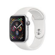 Watch Series 4 Aluminum (44mm), Silver, Summit White Nike Sport Loop