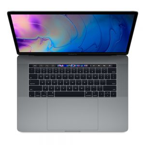 "MacBook Pro 15"" Touch Bar Mid 2019 (Intel 8-Core i9 2.3 GHz 16 GB RAM 512 GB SSD), Space Gray, Intel 8-Core i9 2.3 GHz, 16 GB RAM, 512 GB SSD"