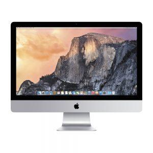 "iMac 27"" Retina 5K Late 2015 (Intel Quad-Core i5 3.2 GHz 8 GB RAM 512 GB SSD), Intel Quad-Core i5 3.2 GHz, 8 GB RAM, 512 GB SSD"