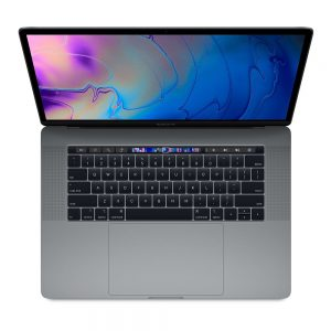 """MacBook Pro 15"""" Touch Bar Mid 2018 (Intel 6-Core i7 2.6 GHz 16 GB RAM 512 GB SSD), Space Gray, Intel 6-Core i7 2.6 GHz, 16 GB RAM, 512 GB SSD"""