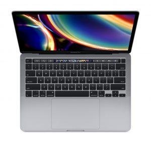 """MacBook Pro 13"""" 4TBT Mid 2020 (Intel Quad-Core i5 2.0 GHz 32 GB RAM 512 GB SSD), Space Gray, Intel Quad-Core i5 2.0 GHz, 32 GB RAM, 512 GB SSD"""