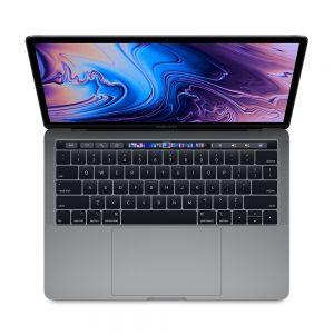 """MacBook Pro 13"""" 4TBT Mid 2019 (Intel Quad-Core i5 2.4 GHz 8 GB RAM 512 GB SSD), Space Gray, Intel Quad-Core i5 2.4 GHz, 8 GB RAM, 512 GB SSD"""