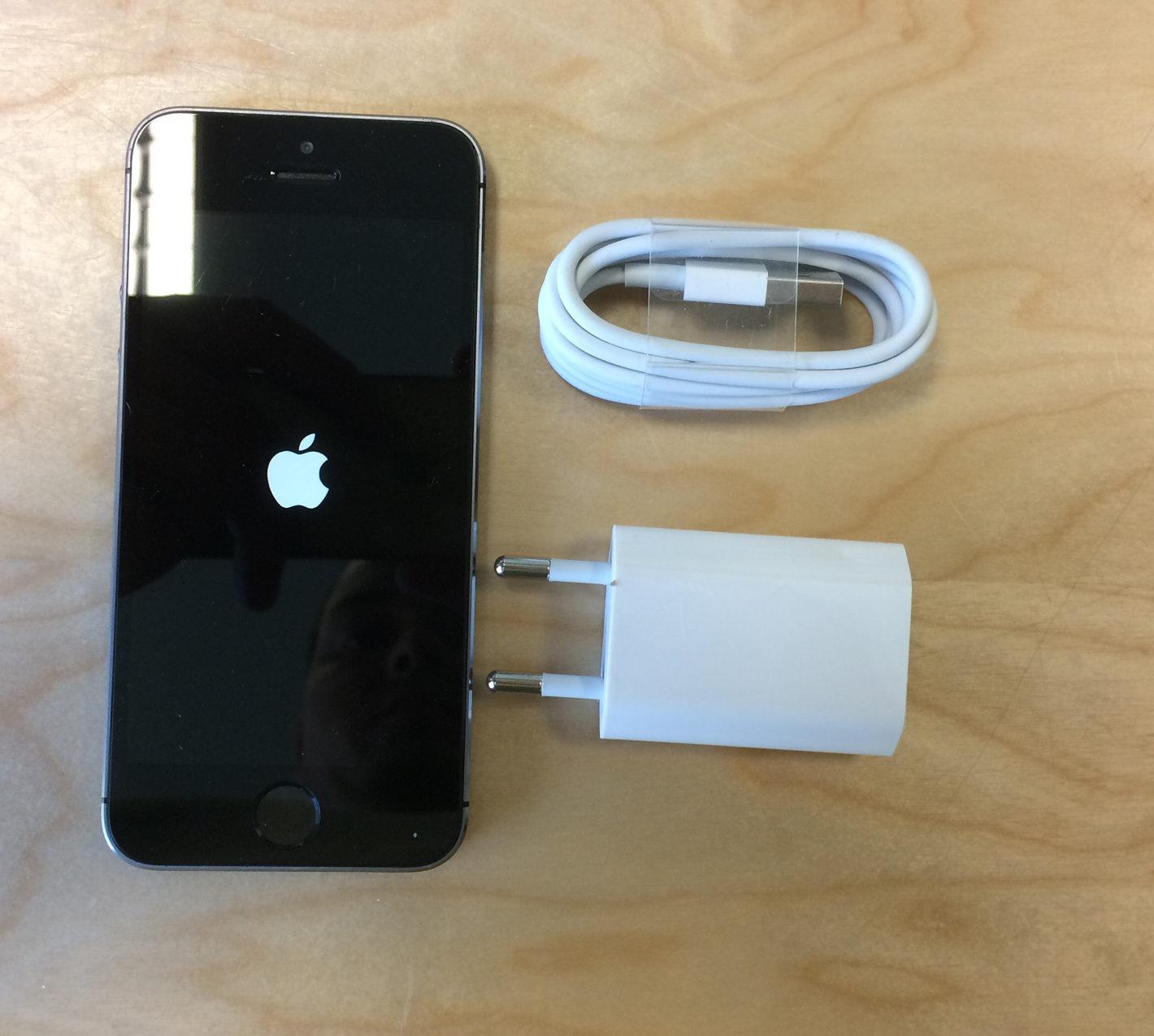 iPhone 5S, 32 GB, Space Gray, imagen 1