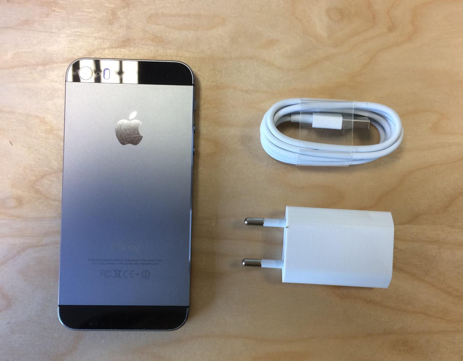 iPhone 5S, 32 GB, Space Gray, imagen 2