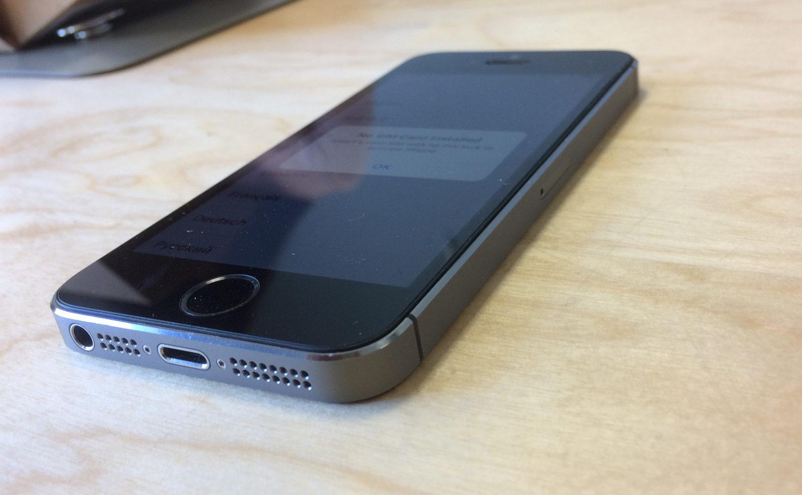 iPhone 5S, 32 GB, Space Gray, imagen 5