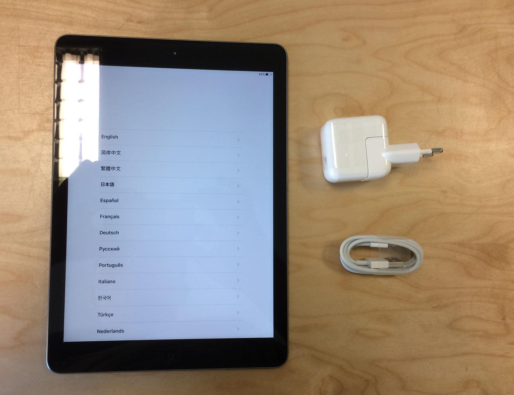 iPad Air (Wi-Fi), 16 GB, Space Gray, imagen 1