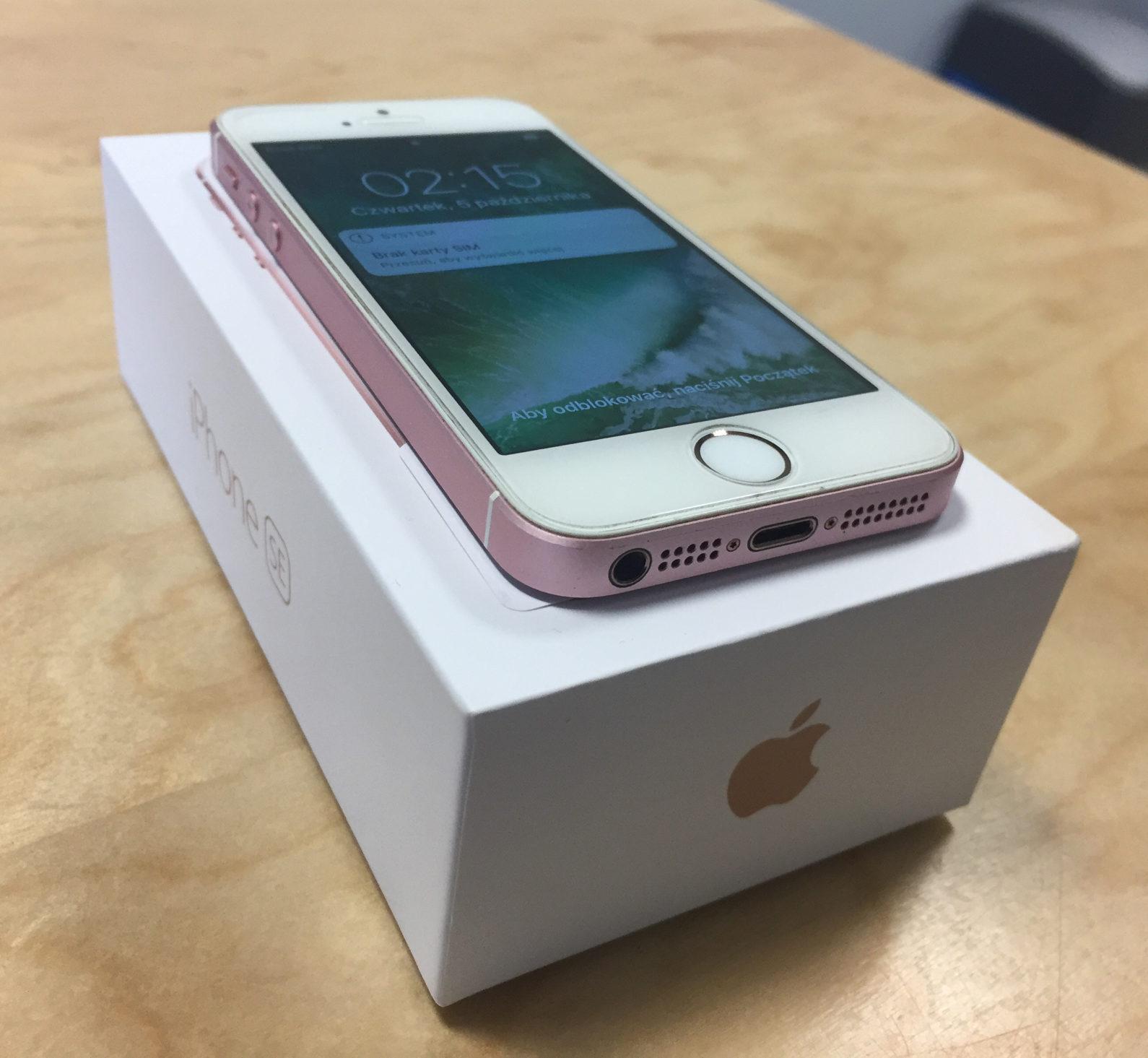 iPhone SE, 16 GB, Rose Gold, imagen 3