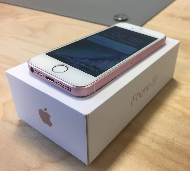 iPhone SE, 16 GB, Rose Gold, imagen 4