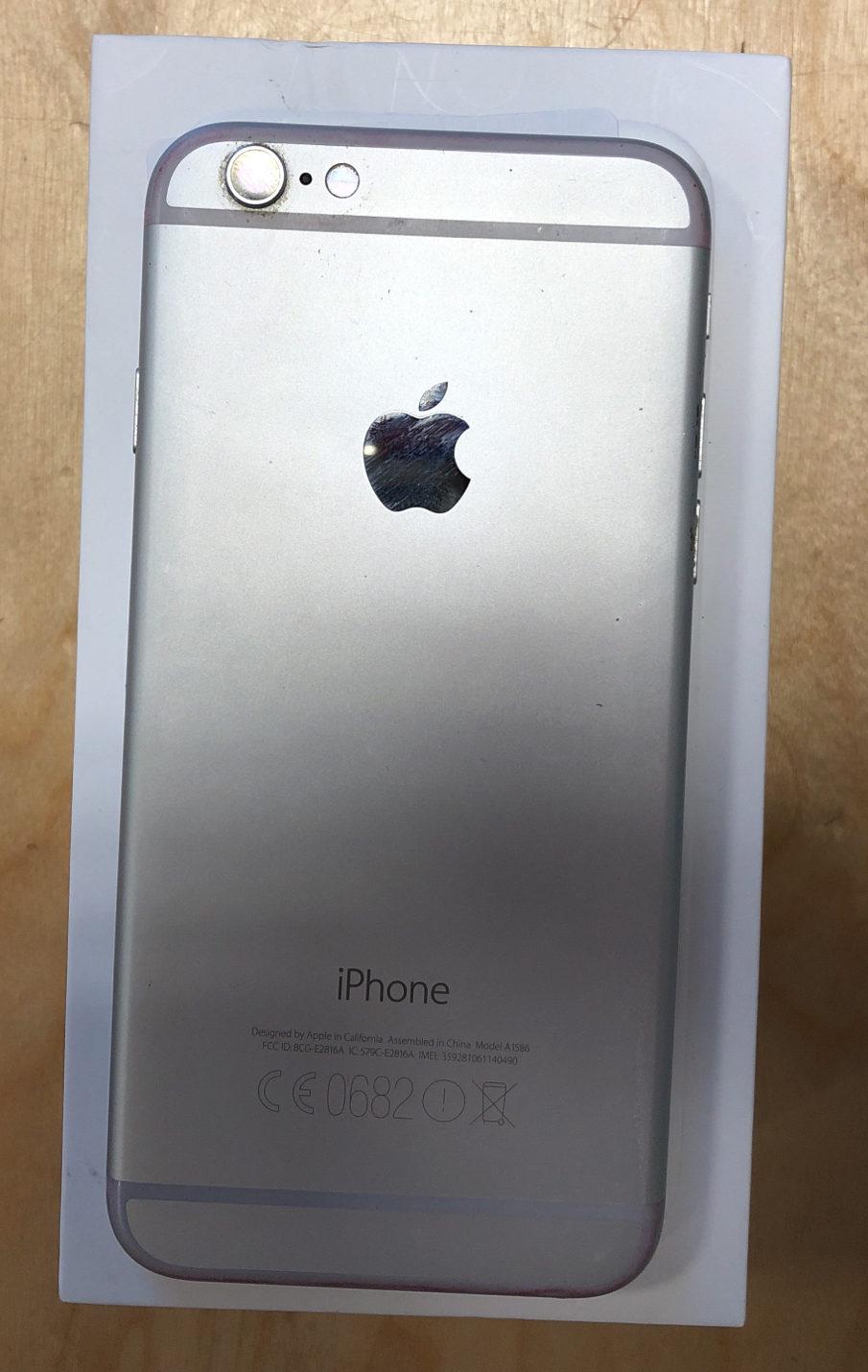 iPhone 6, 16 GB, Silver, imagen 3