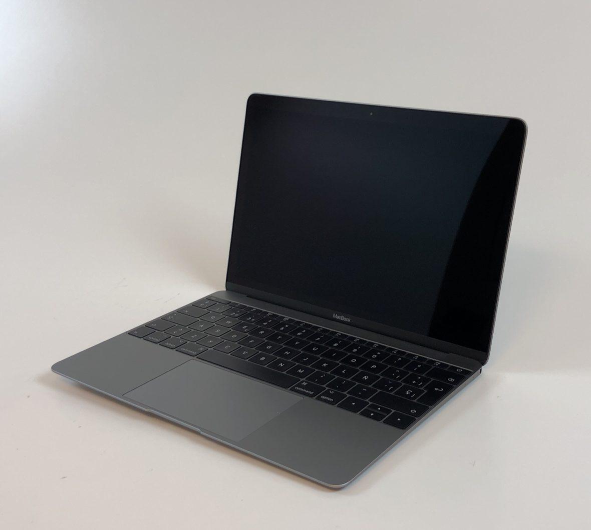 """MacBook 12"""" Mid 2017 (Intel Core i5 1.3 GHz 8 GB RAM 512 GB SSD), Space Gray, Intel Core i5 1.3 GHz, 8 GB RAM, 512 GB SSD, imagen 3"""