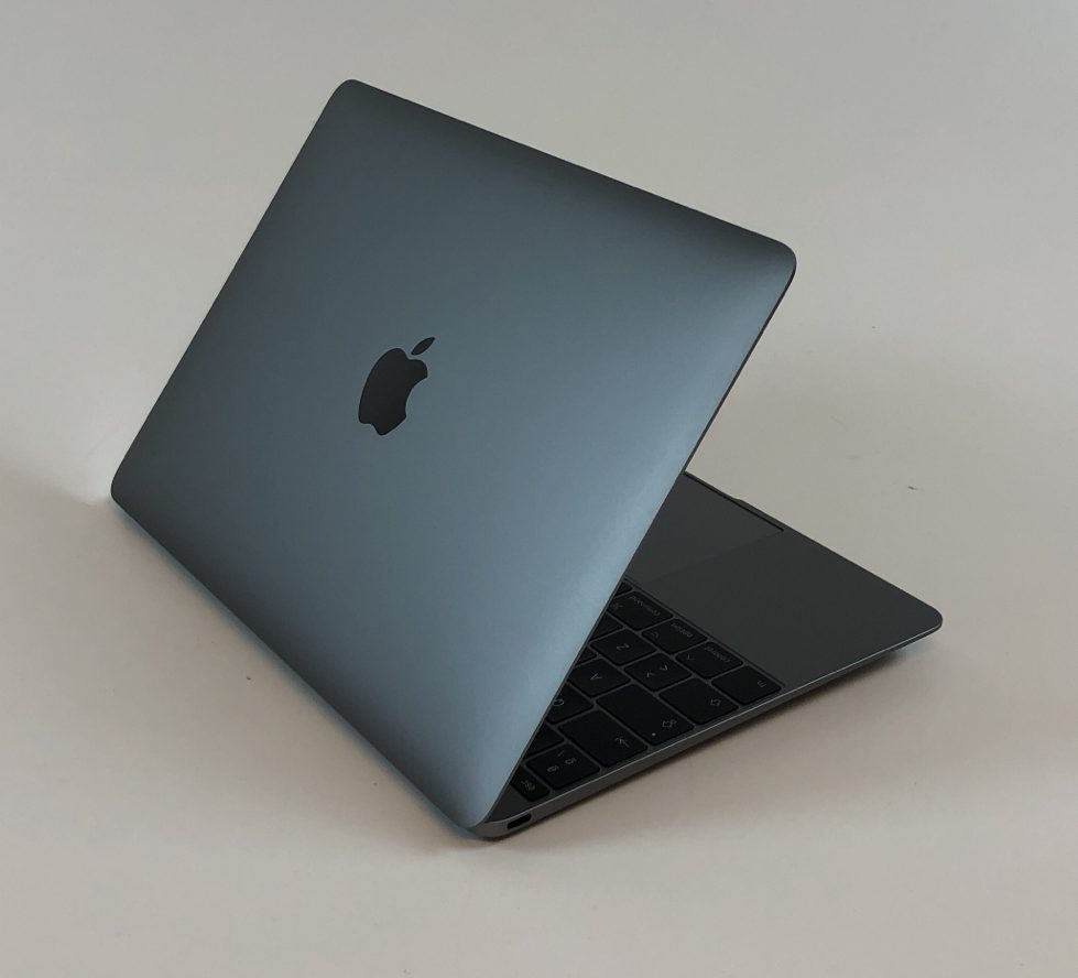 "MacBook 12"" Mid 2017 (Intel Core i5 1.3 GHz 8 GB RAM 512 GB SSD), Space Gray, Intel Core i5 1.3 GHz, 8 GB RAM, 512 GB SSD, Kuva 4"