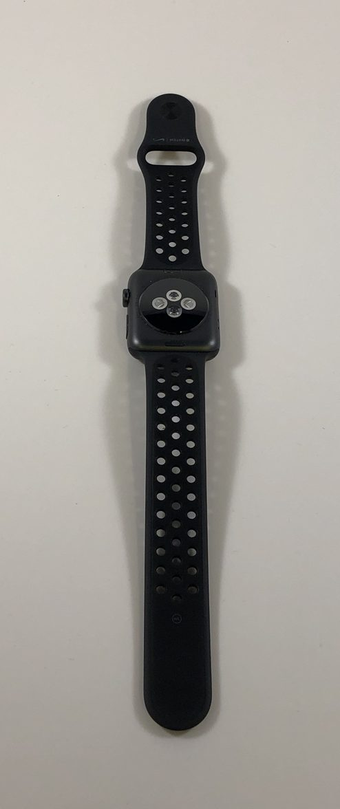 Watch Series 2 Aluminum (42mm), Space Gray, Anthracite/Black Nike Sport Band, imagen 3