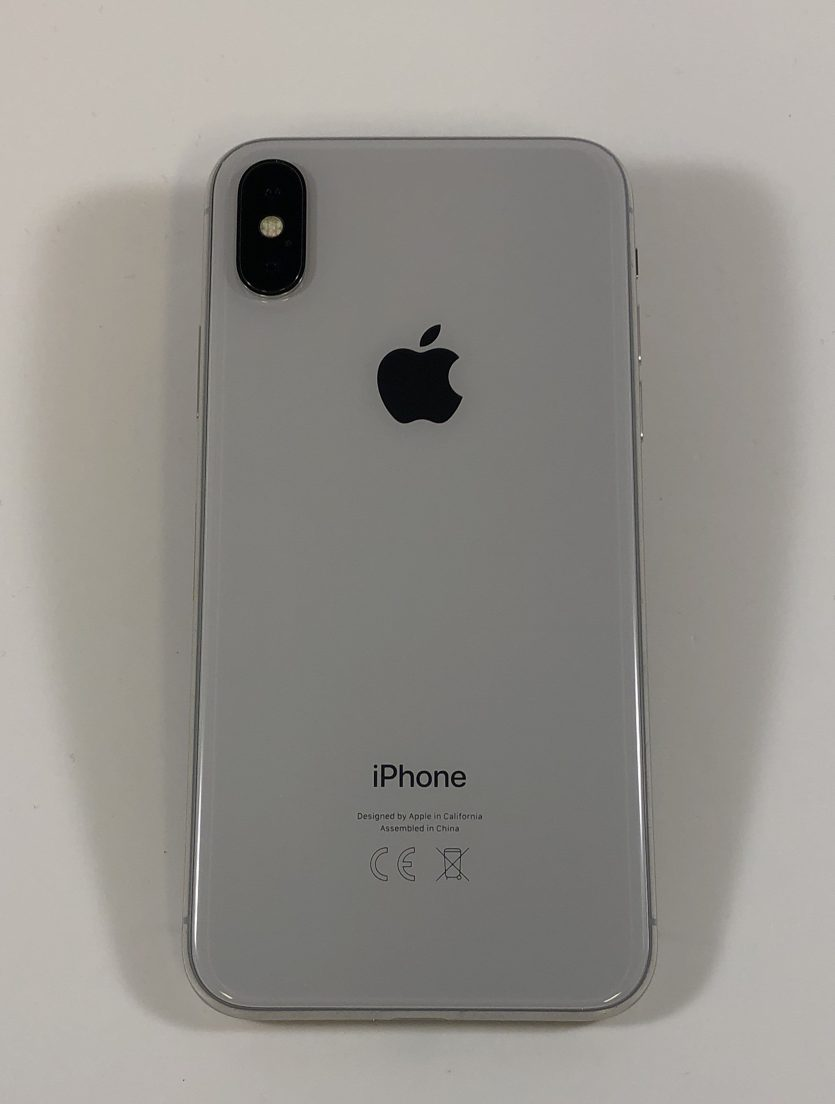 iPhone X 256GB, 256GB, Silver, Kuva 2