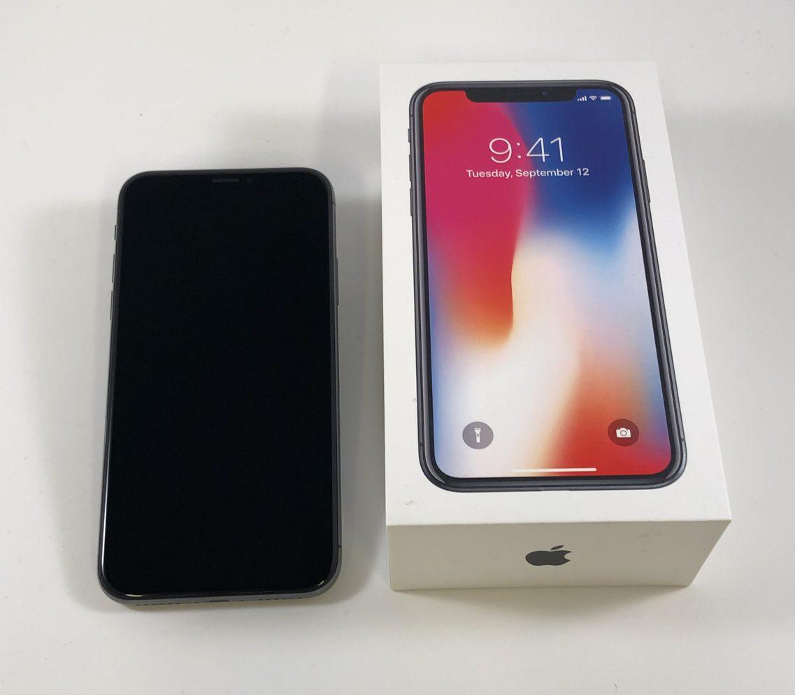 iPhone X 256GB, 256GB, Space Gray, image 3