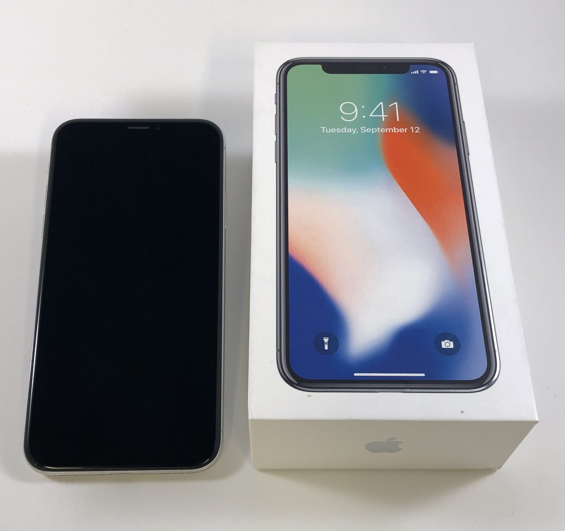 iPhone X 256GB, 256GB, Silver, imagen 4