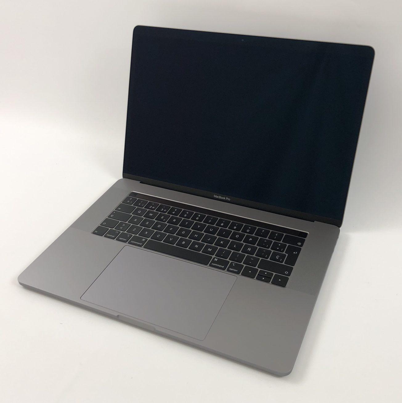 "MacBook Pro 15"" Touch Bar Mid 2018 (Intel 6-Core i7 2.6 GHz 16 GB RAM 512 GB SSD), Space Gray, Intel 6-Core i7 2.6 GHz, 16 GB RAM, 512 GB SSD, imagen 1"