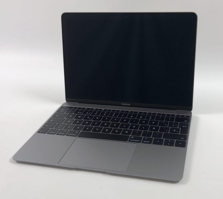 """MacBook 12"""" Mid 2017 (Intel Core m3 1.2 GHz 8 GB RAM 256 GB SSD), Space Gray, Intel Core m3 1.2 GHz, 8 GB RAM, 256 GB SSD, imagen 1"""