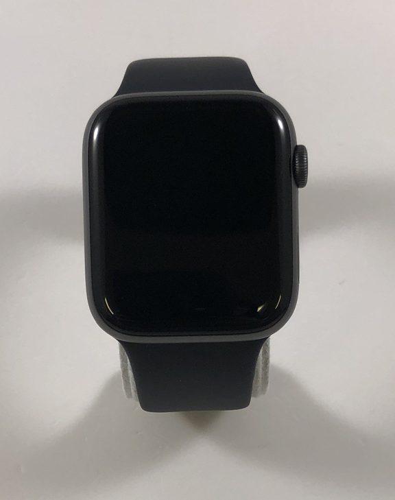 Watch Series 4 Aluminum (44mm), Space Gray, Black Sport Band, imagen 1