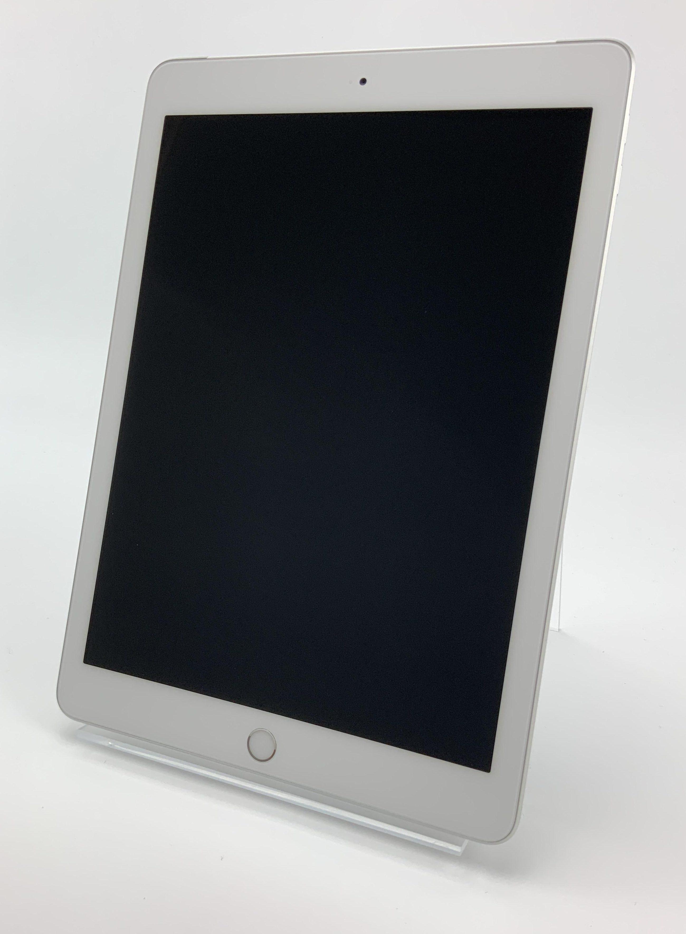 iPad 6 Wi-Fi + Cellular 128GB, 128GB, Silver, Afbeelding 1
