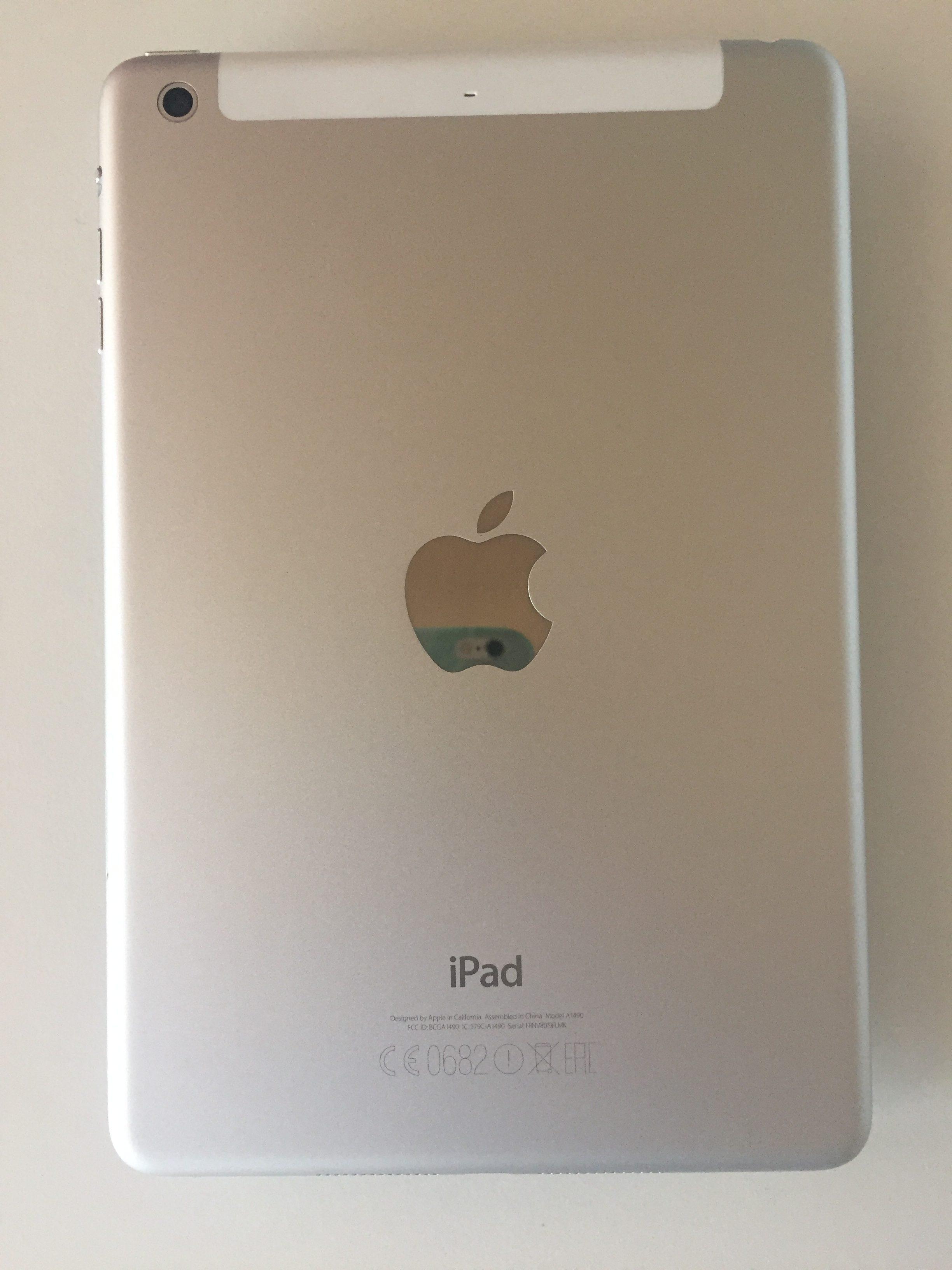 iPad mini 2 Wi-Fi + Cellular 16GB, 16 GB, Silver, imagen 2