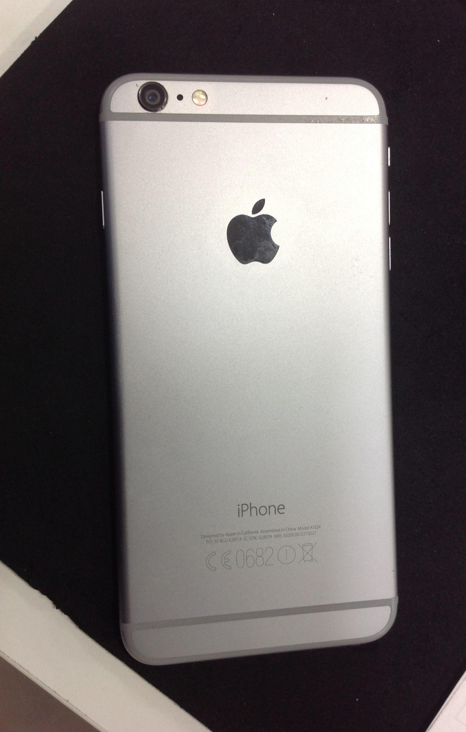 7bd4932c857 iPhone 6plus, 16 GB, Gris espacial, imagen 3