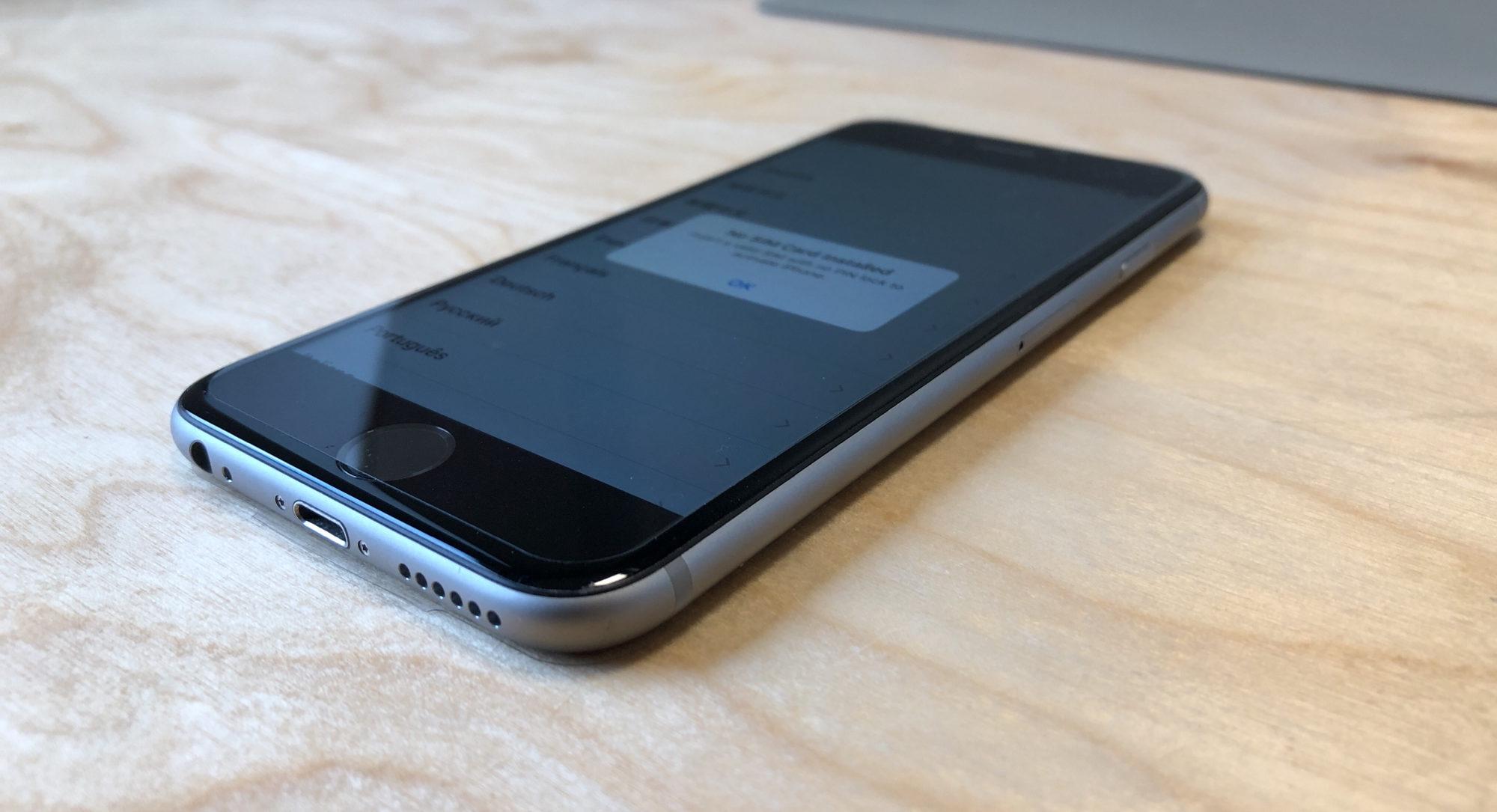 iPhone 6S, 64 GB, Space Gray, imagen 3