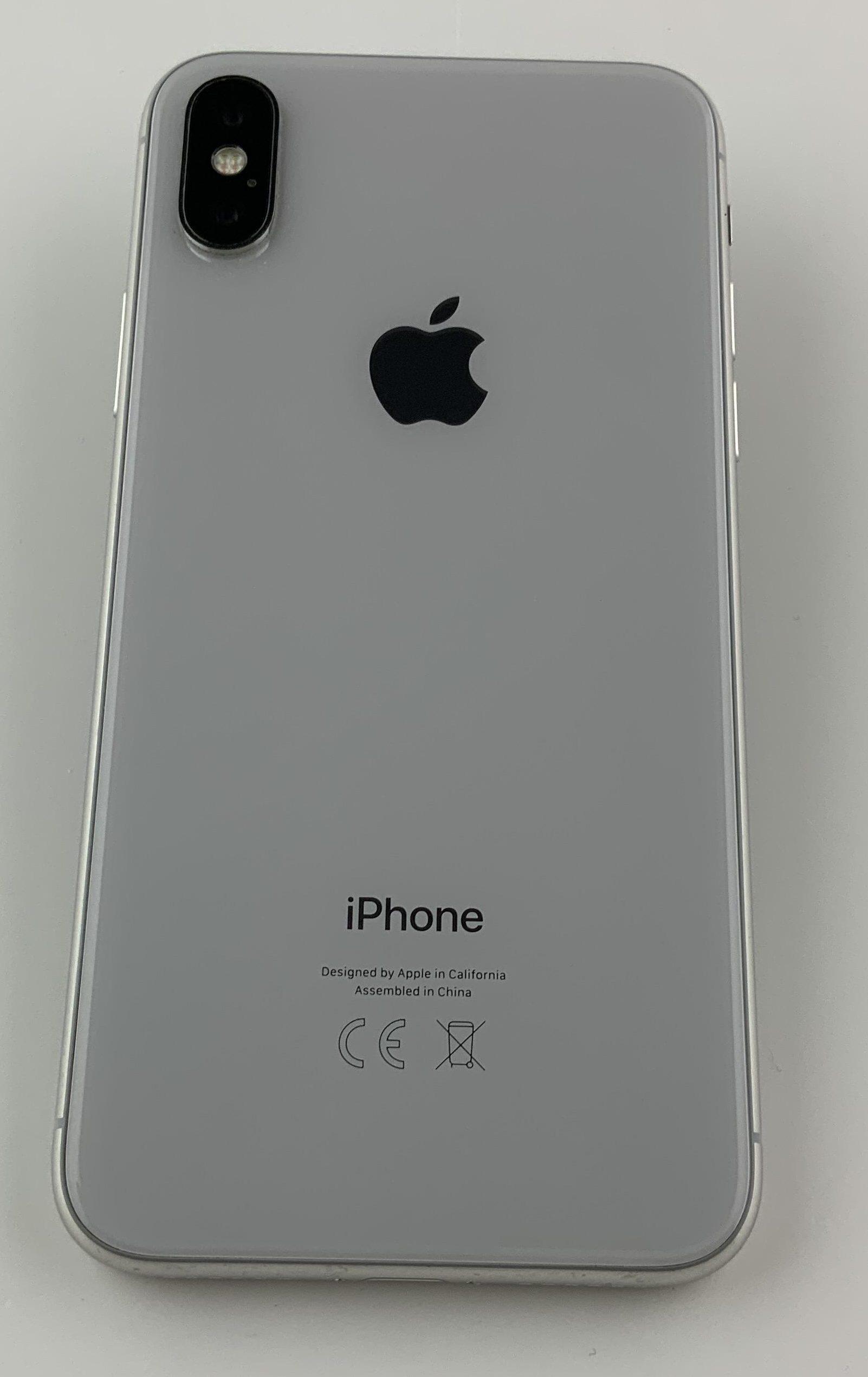 iPhone X 256GB, 256GB, Silver, immagine 2