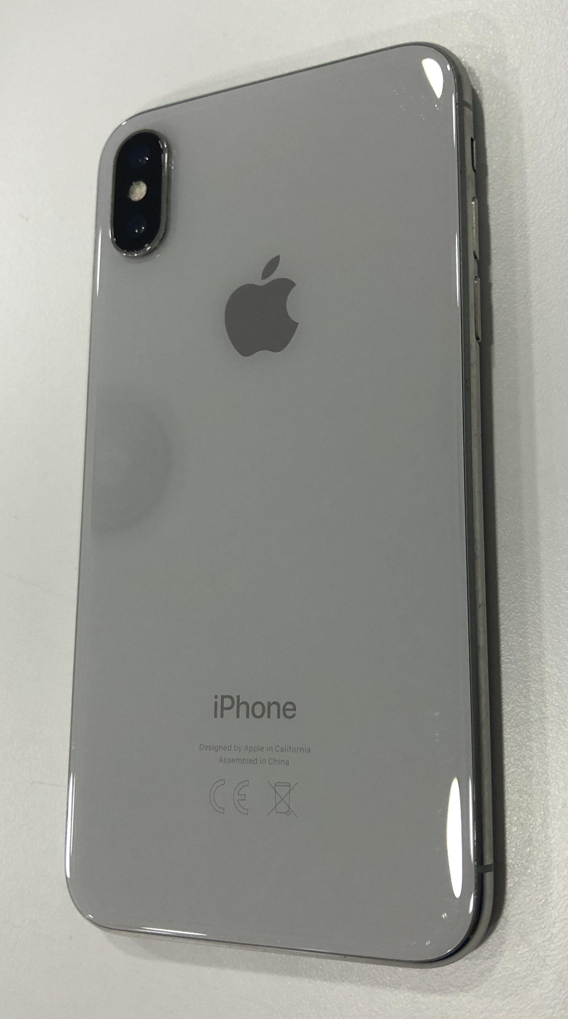 iPhone X 256GB, 256GB, Silver, imagen 2