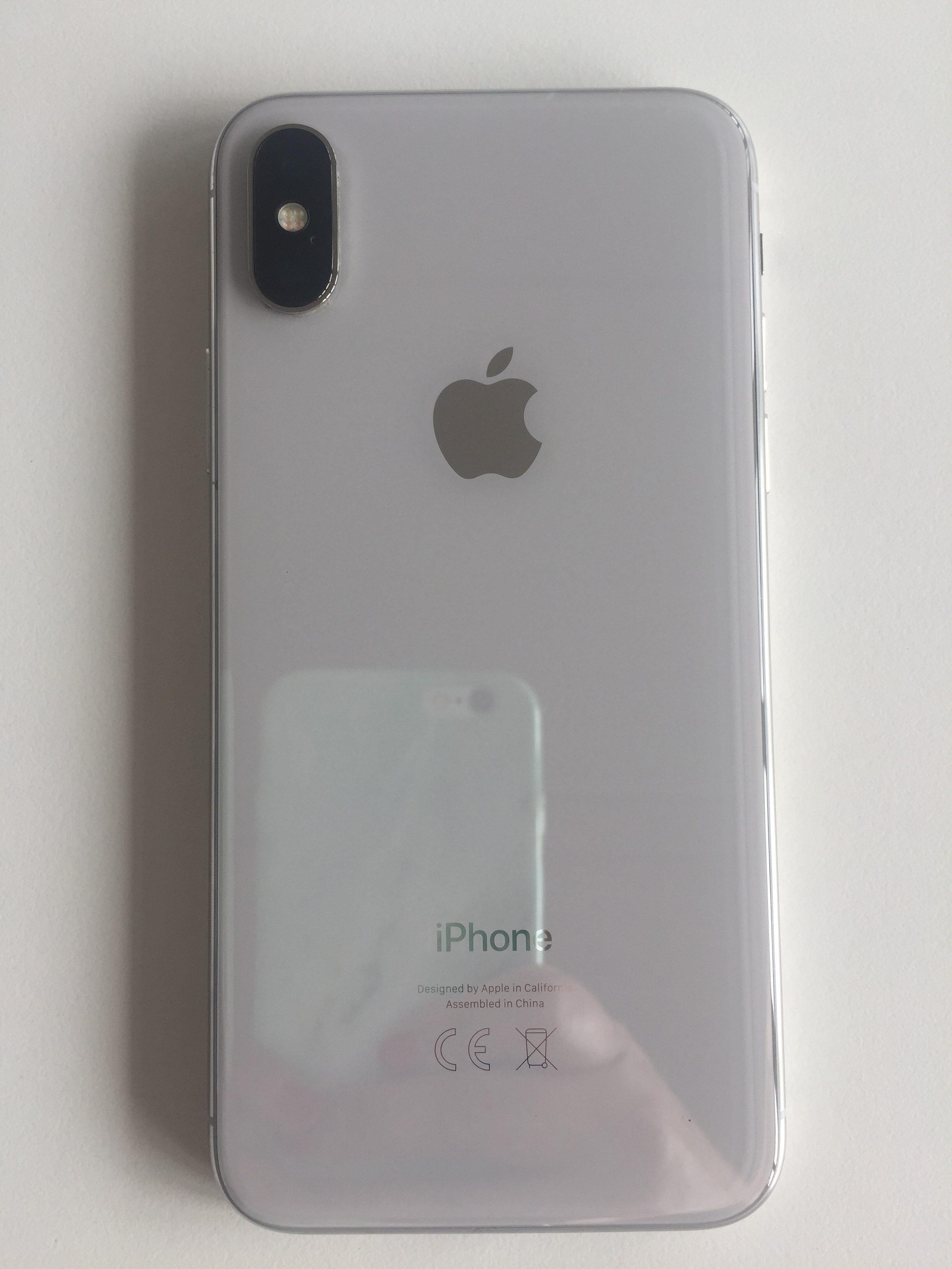 iPhone X 256GB, 256 GB, Silver, imagen 4