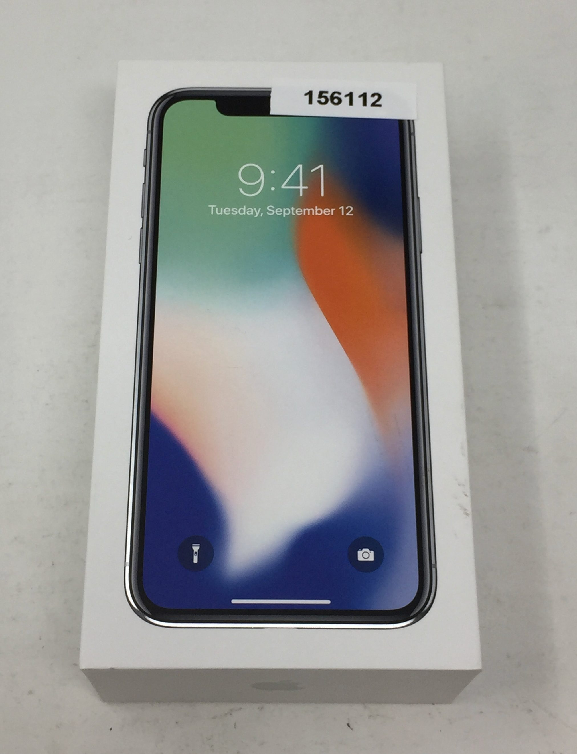 iPhone X 256GB, 256 GB, Silver, bild 4