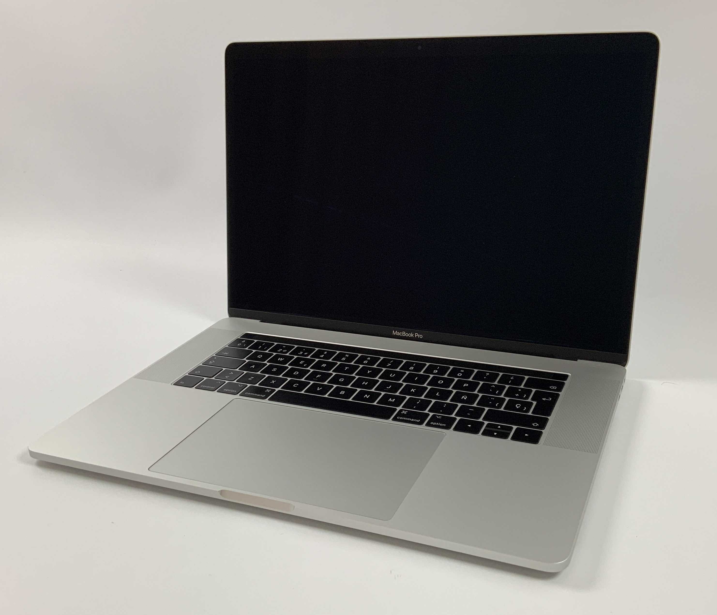 "MacBook Pro 15"" Touch Bar Late 2016 (Intel Quad-Core i7 2.6 GHz 16 GB RAM 1 TB SSD), Silver, Intel Quad-Core i7 2.6 GHz, 16 GB RAM, 1 TB SSD, Afbeelding 1"