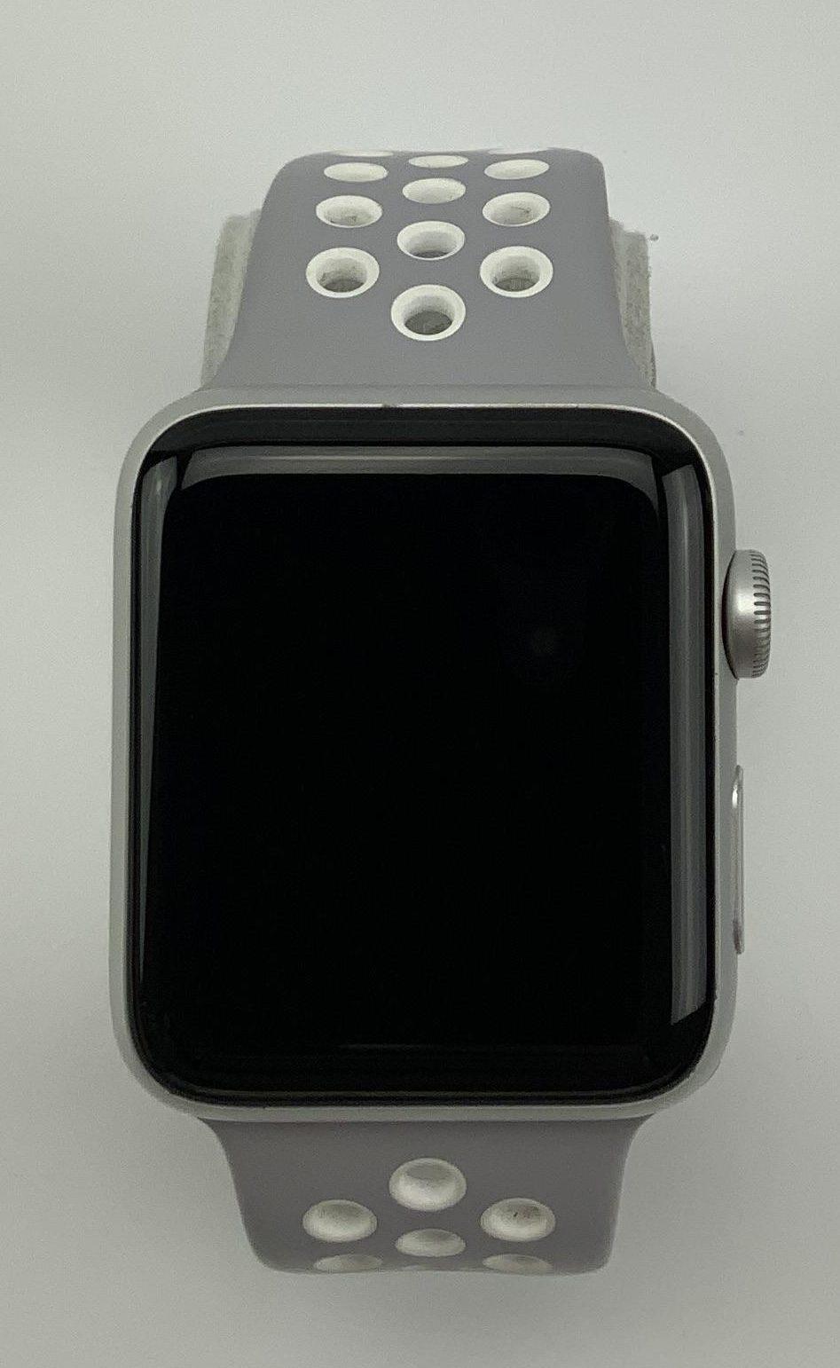 Watch Series 2 Aluminum (42mm), Silver, Grey Nike Sport Band, Bild 1