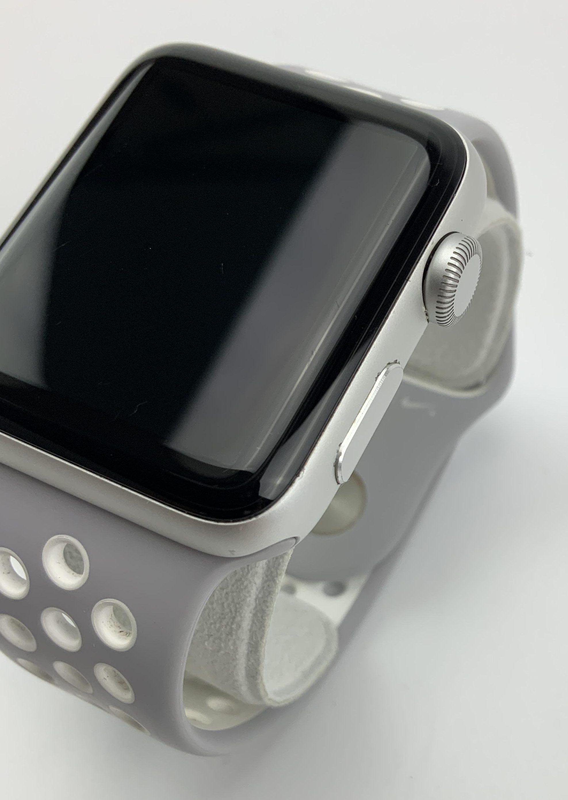 Watch Series 2 Aluminum (42mm), Silver, Grey Nike Sport Band, Bild 3