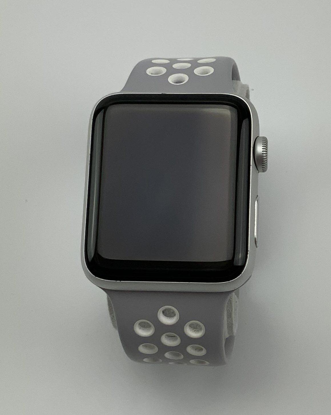Watch Series 2 Aluminum (42mm), Silver, Grey Nike Sport Band, Bild 2