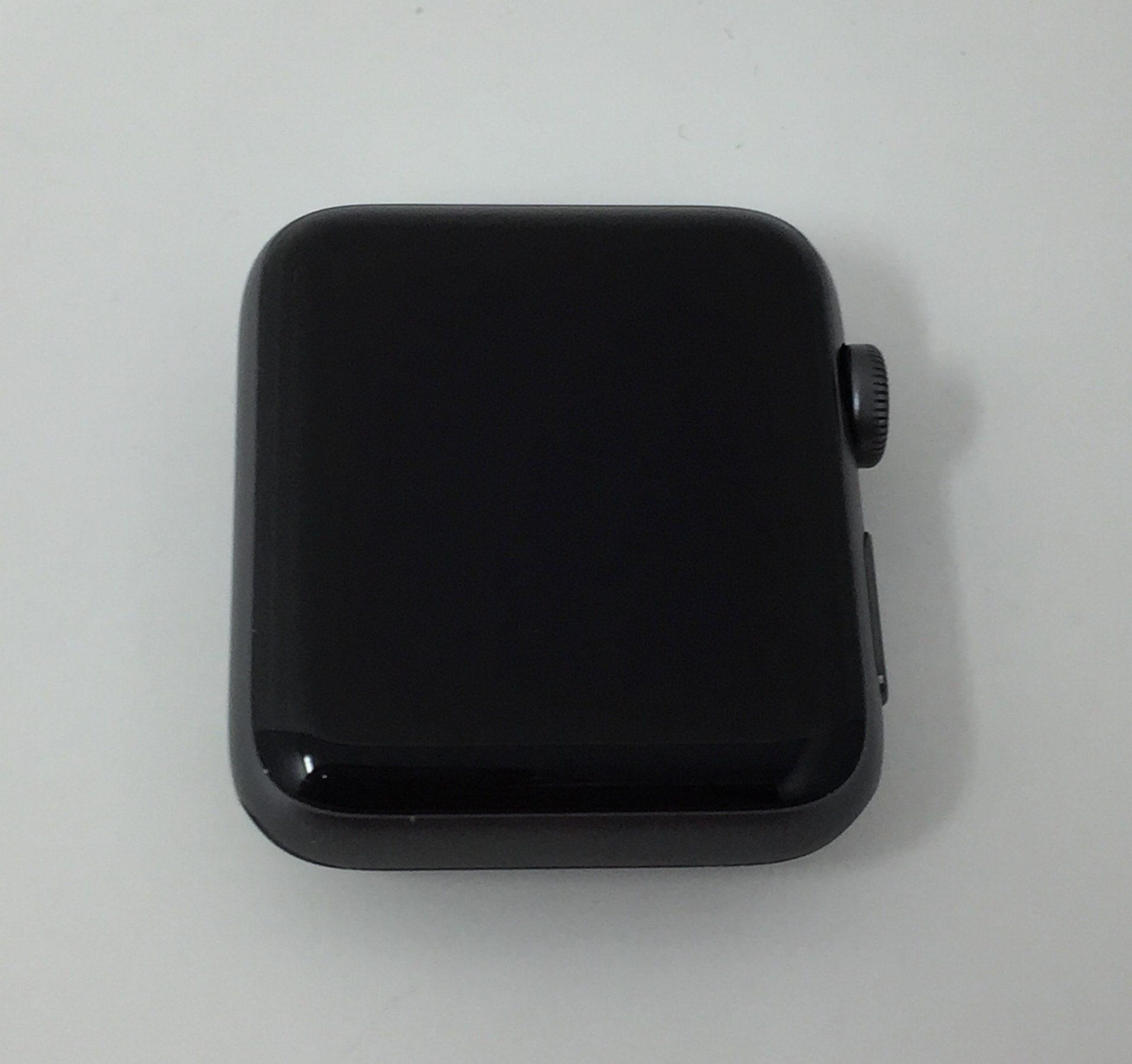 Watch Series 2 Aluminum (42mm), Space Gray, Black Sport Band, imagen 1
