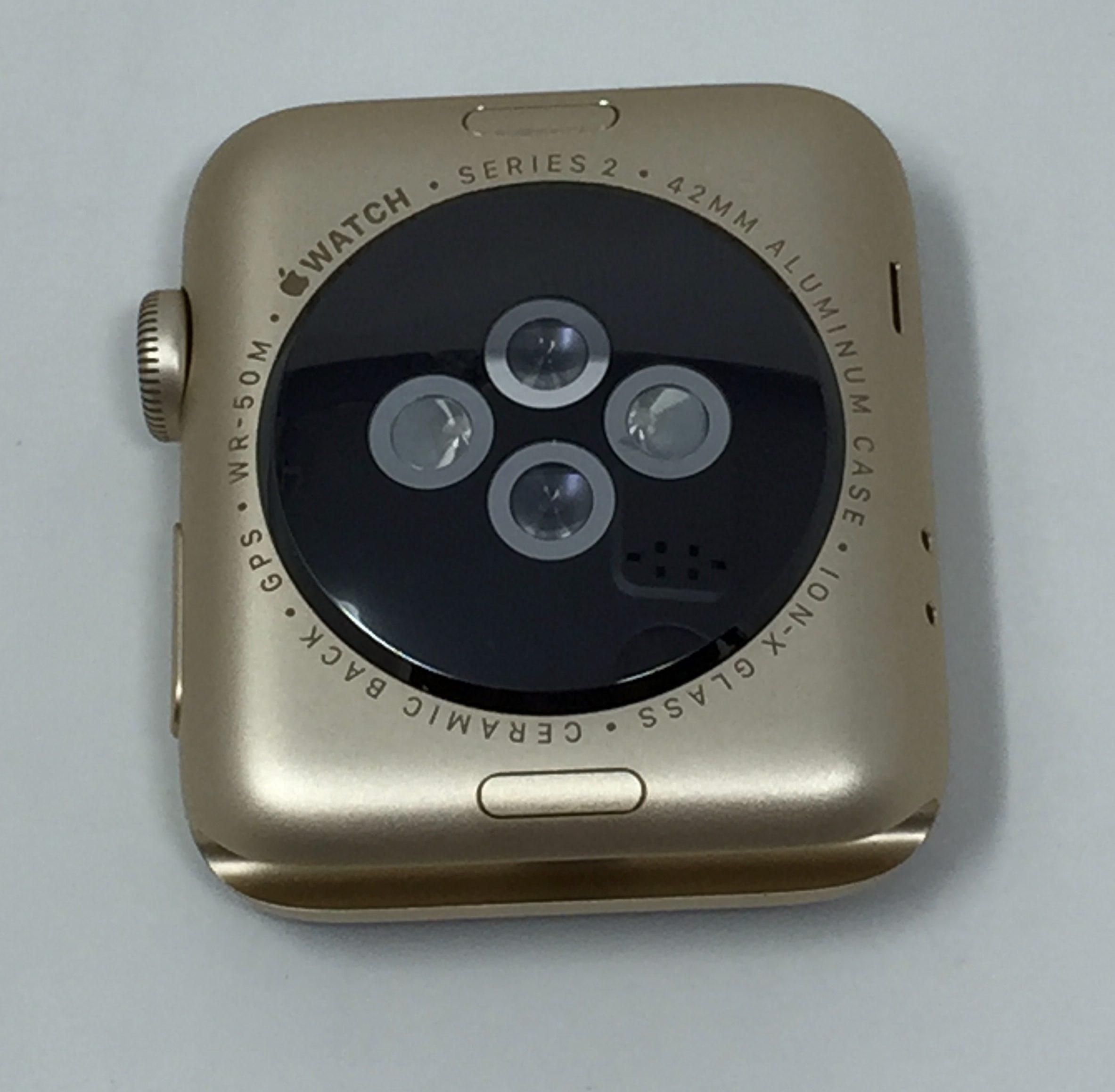 Watch Series 2 Aluminum (42mm), Brown , imagen 2