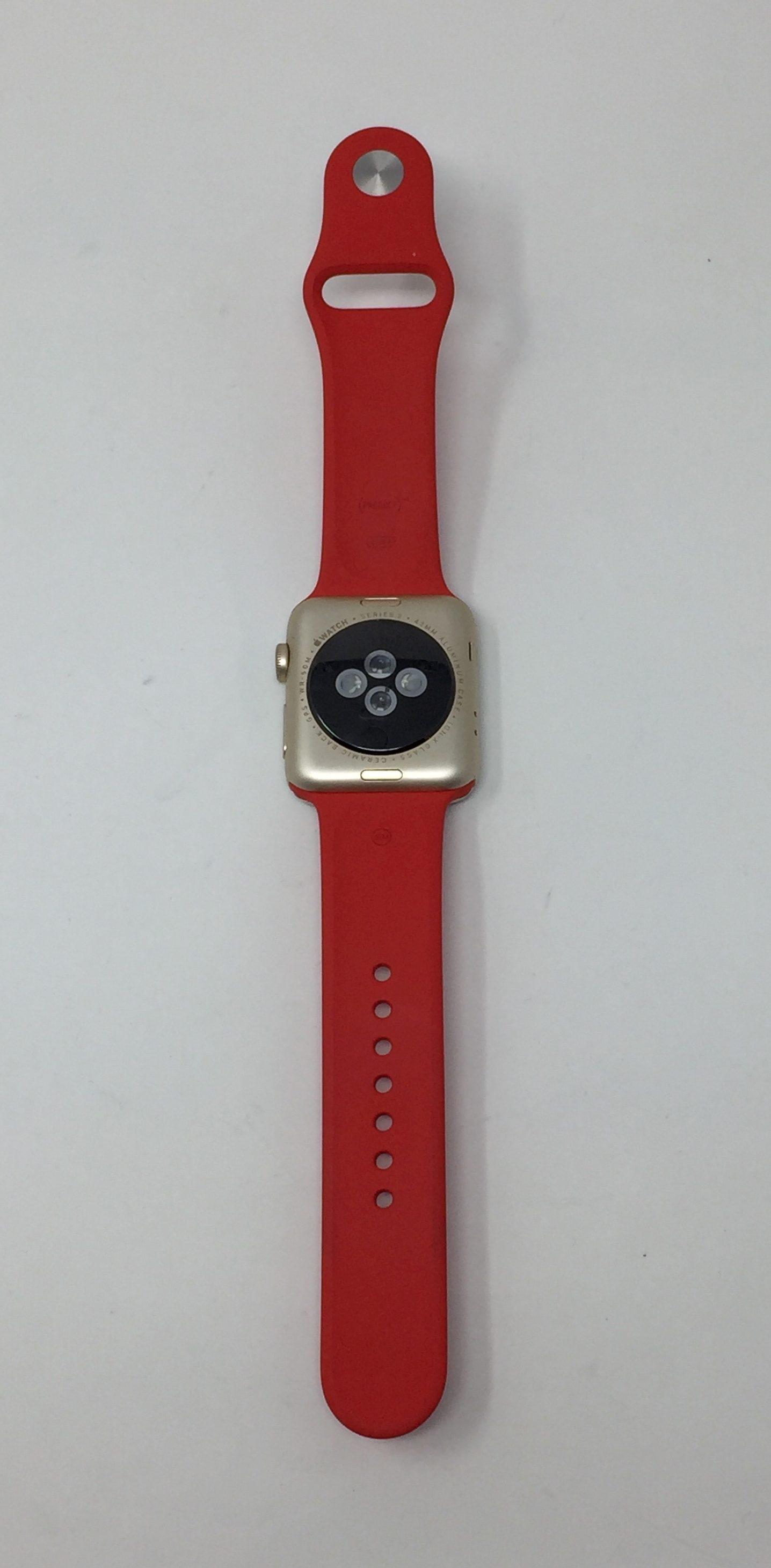 Watch Series 2 Aluminum (42mm), Red, Kuva 2